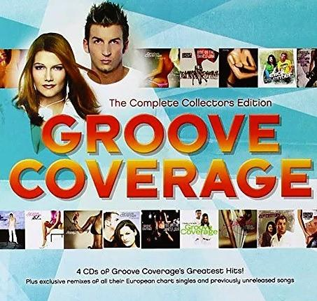 CD Groove Coverage - The Complete Collector's Edition Free Shipping