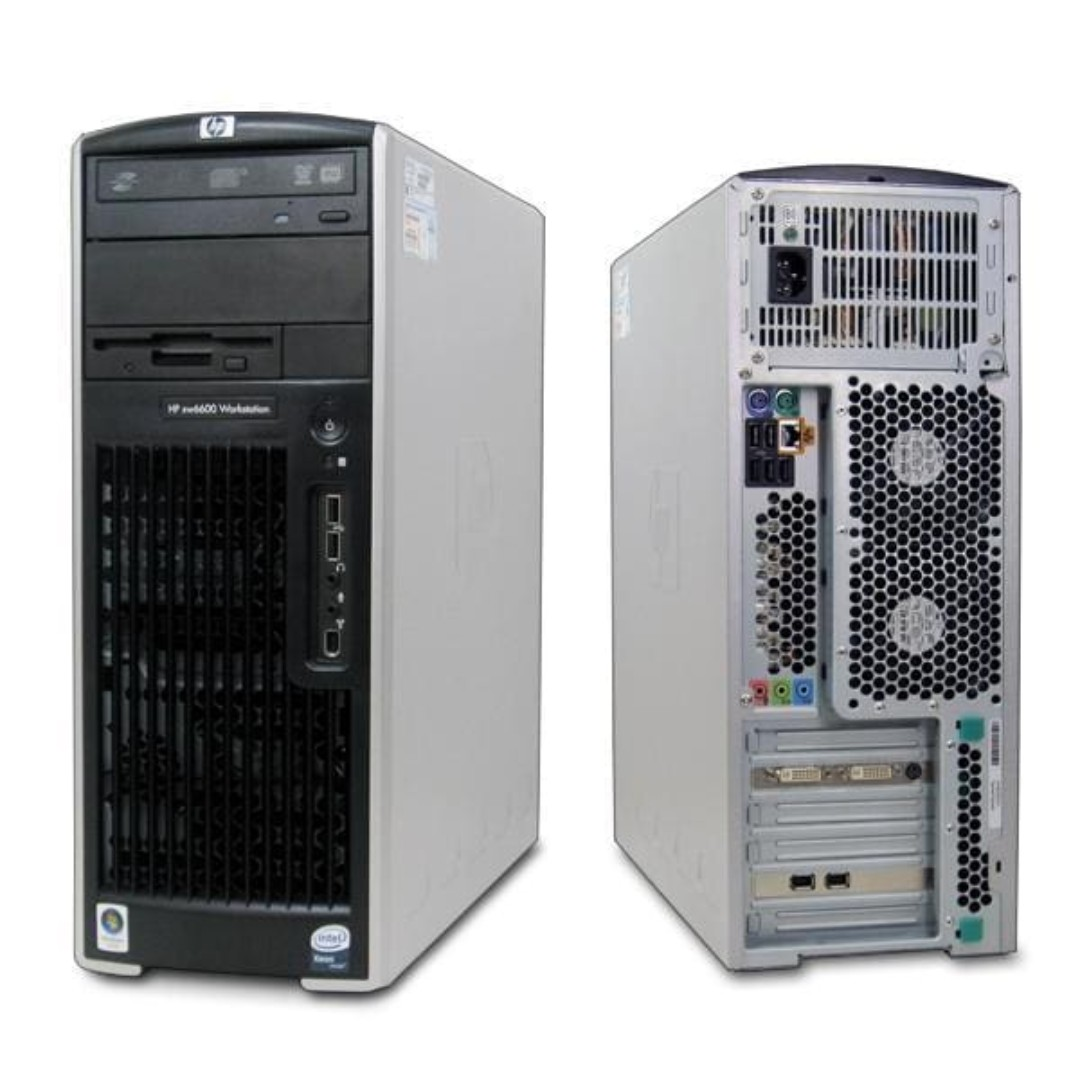 (Certified refurbished) HP xw6600 Workstation (Quad-Core Xeon E5410  2 33GHz, 4GB RAM, 500GB HDD) with 1 month warranty