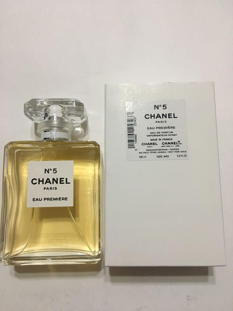 7b8b6f17 Chanel No5 Eau Premiere Tester Pack w can & box Authentic, Health ...