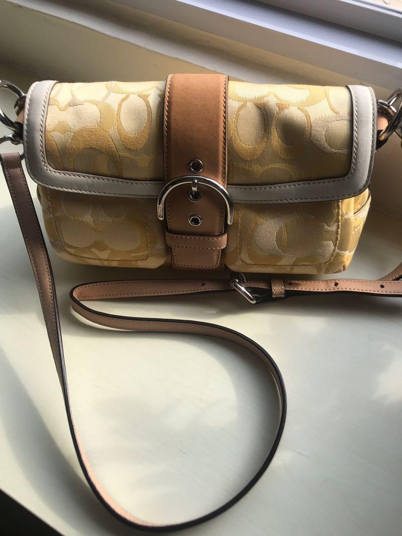 Coach Fabric (crossbody) Handbag