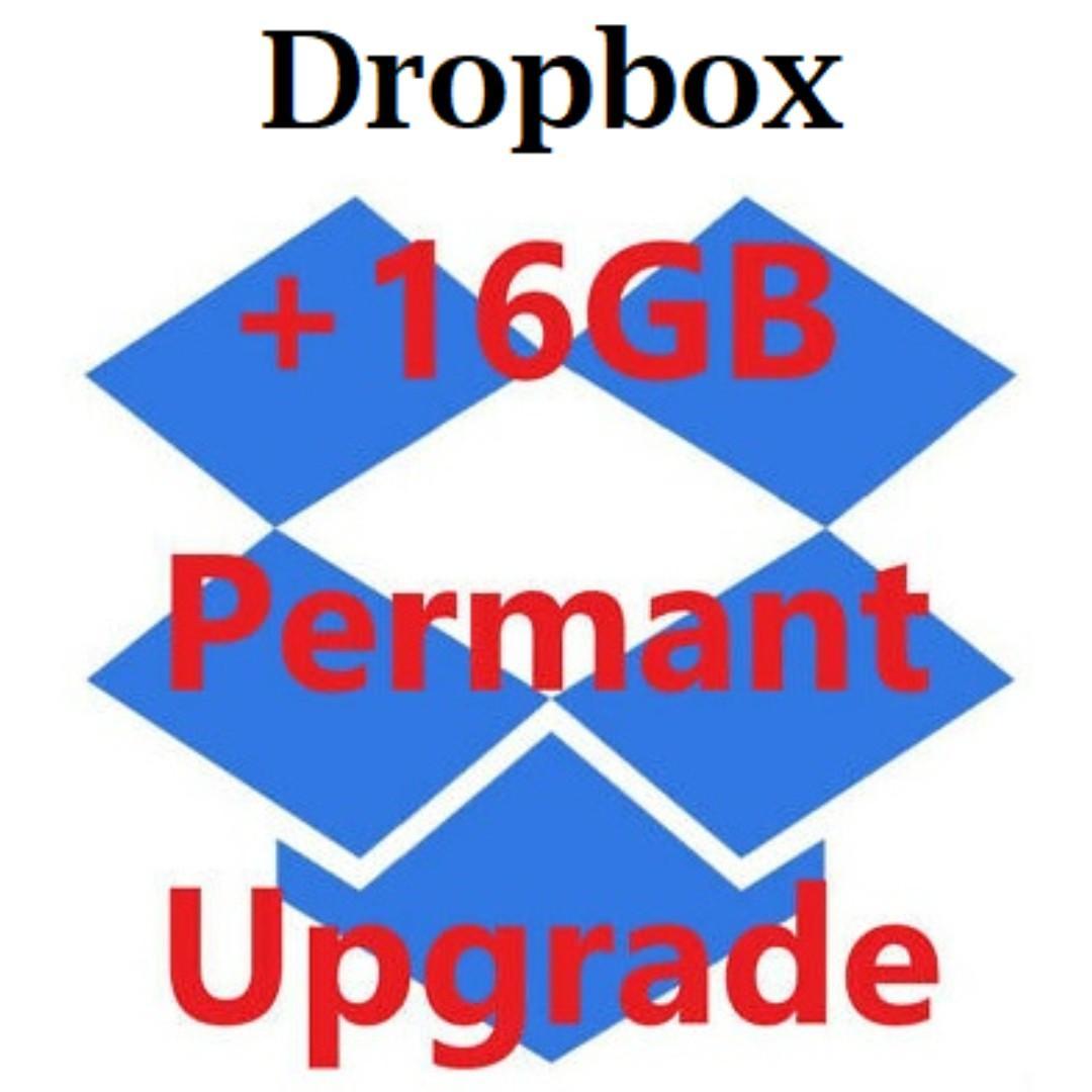 Dropbox 16GB 16G Upgrade Lifetime Service 升級容量Storage 18GB Legal Document Photos