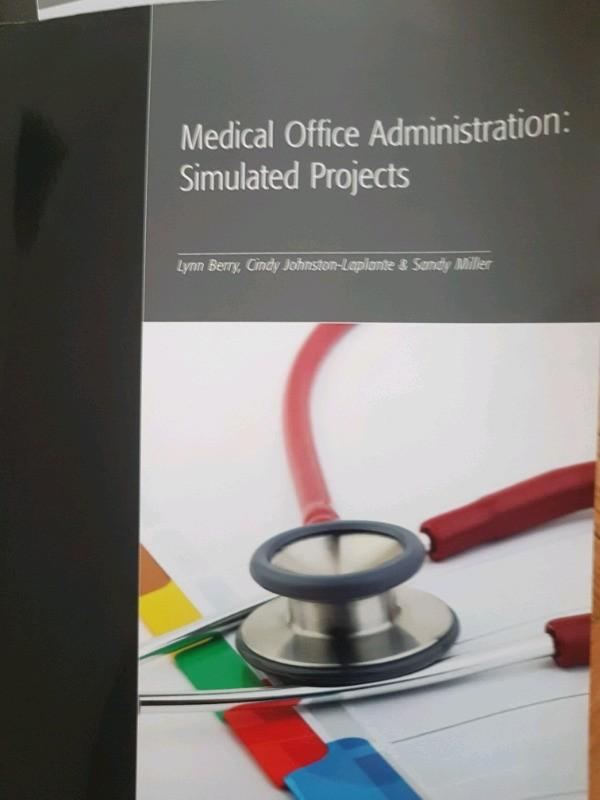 Edmon Medical office assistant/administration textbook