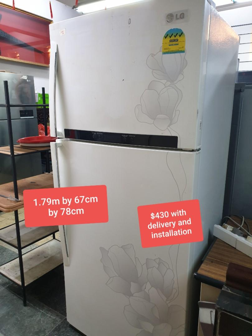 Fridge and washing machine cheap cheap (2nd hand) but all working well !