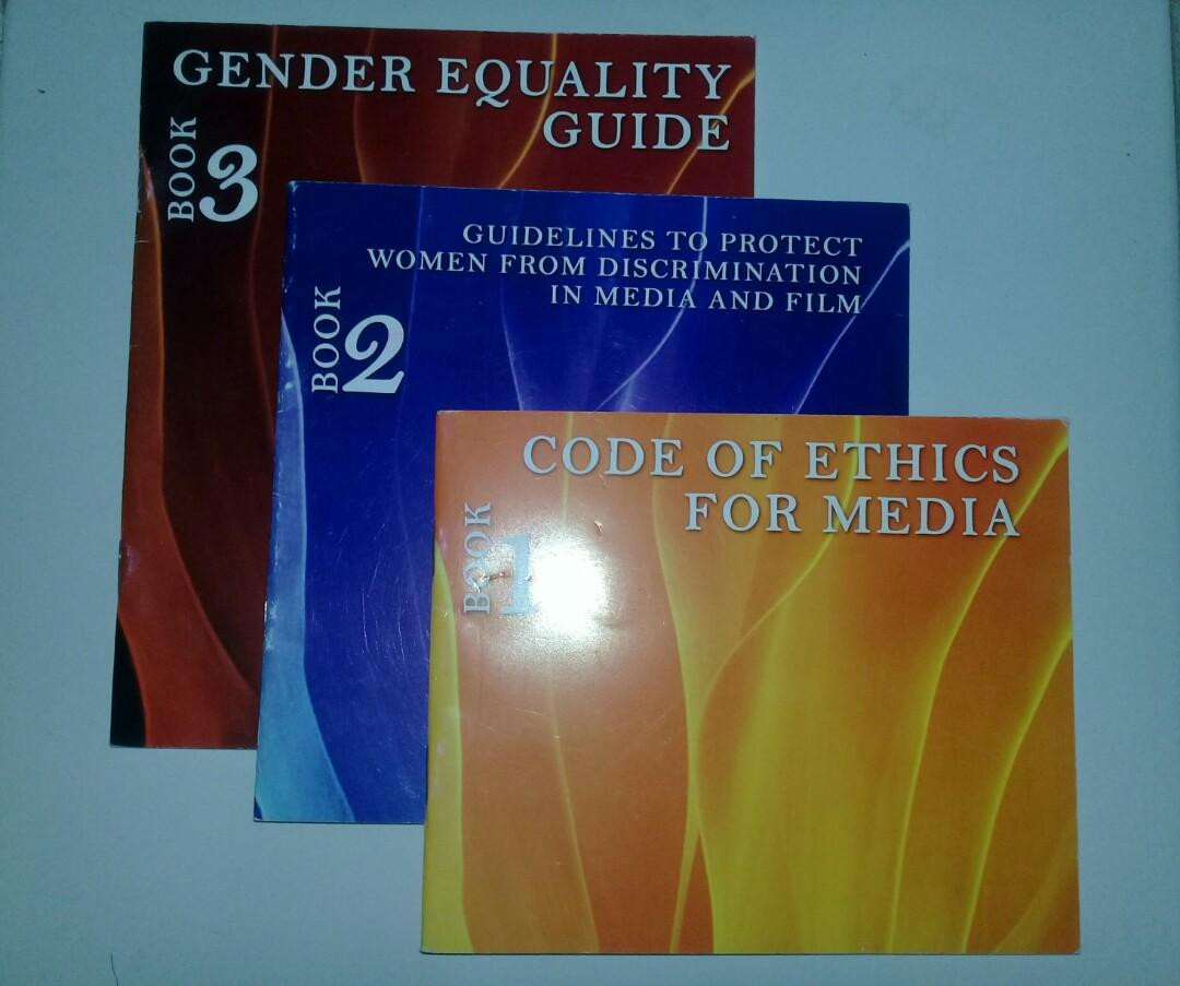 Gender Equality Guide, Guidelines to Protect Women from Discrimination in Media and Film and Code of Ethics for Media)
