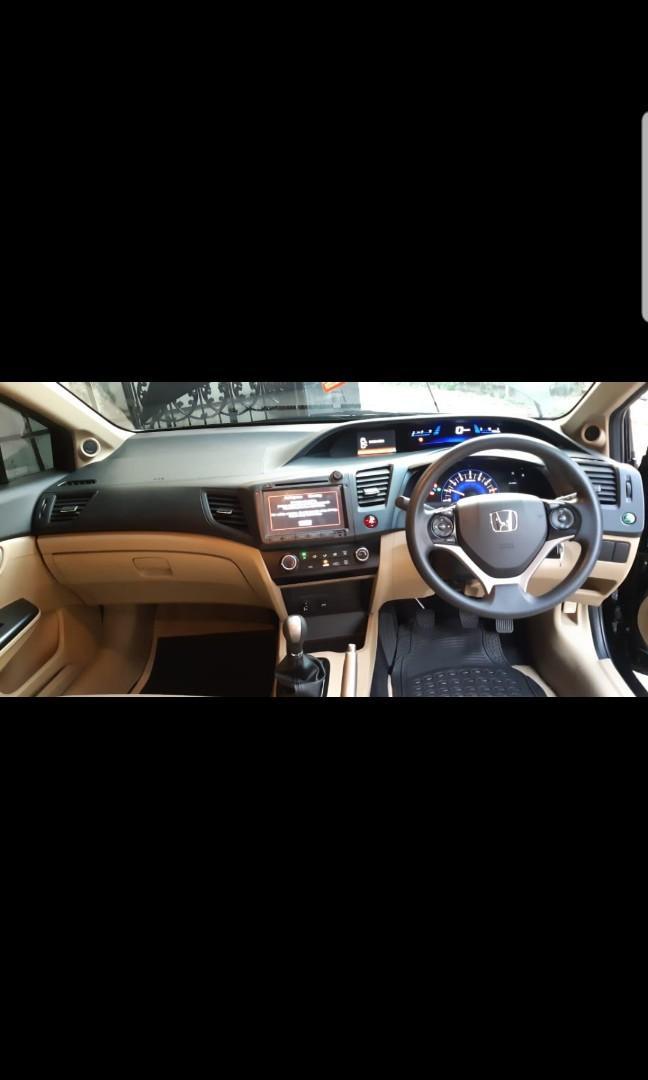 Honda civic 2015 pemakai an 2016 Manual bisa tt innova accord camry altis vios mobilio crv brv hrv xpander fortuner pajero jazz avanza rush terios xenia