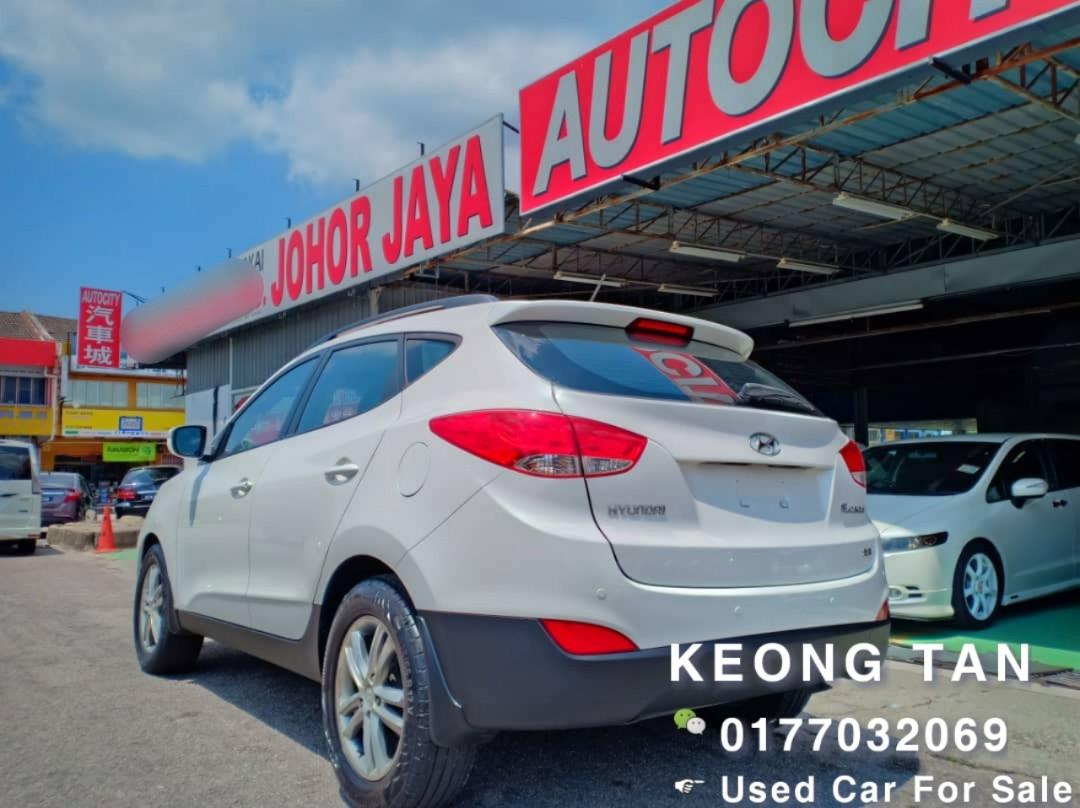 HYUNDAI TUCSON 2.0AT STANDARD SPEC 2010TH Cash🎉 OfferPrice💲Rm34,500 Only‼ Lowest Price InJB 🎉📲 Keong‼🤗