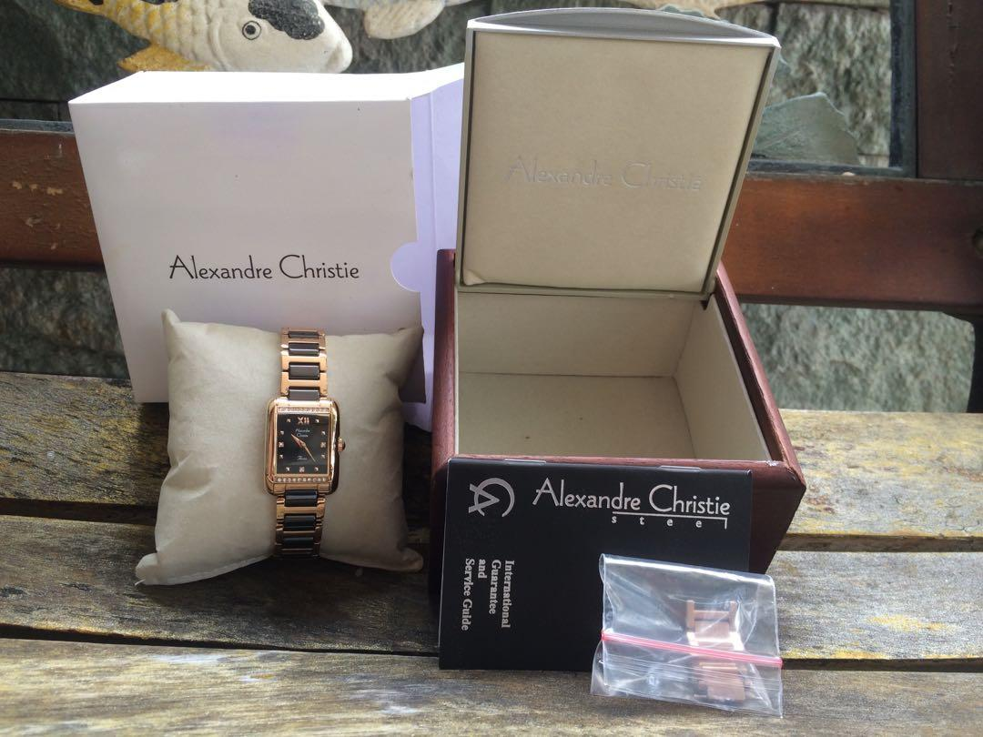Jam Alexandre Christie Watch Woman (wanita) ACF 2791 LHGRBGA