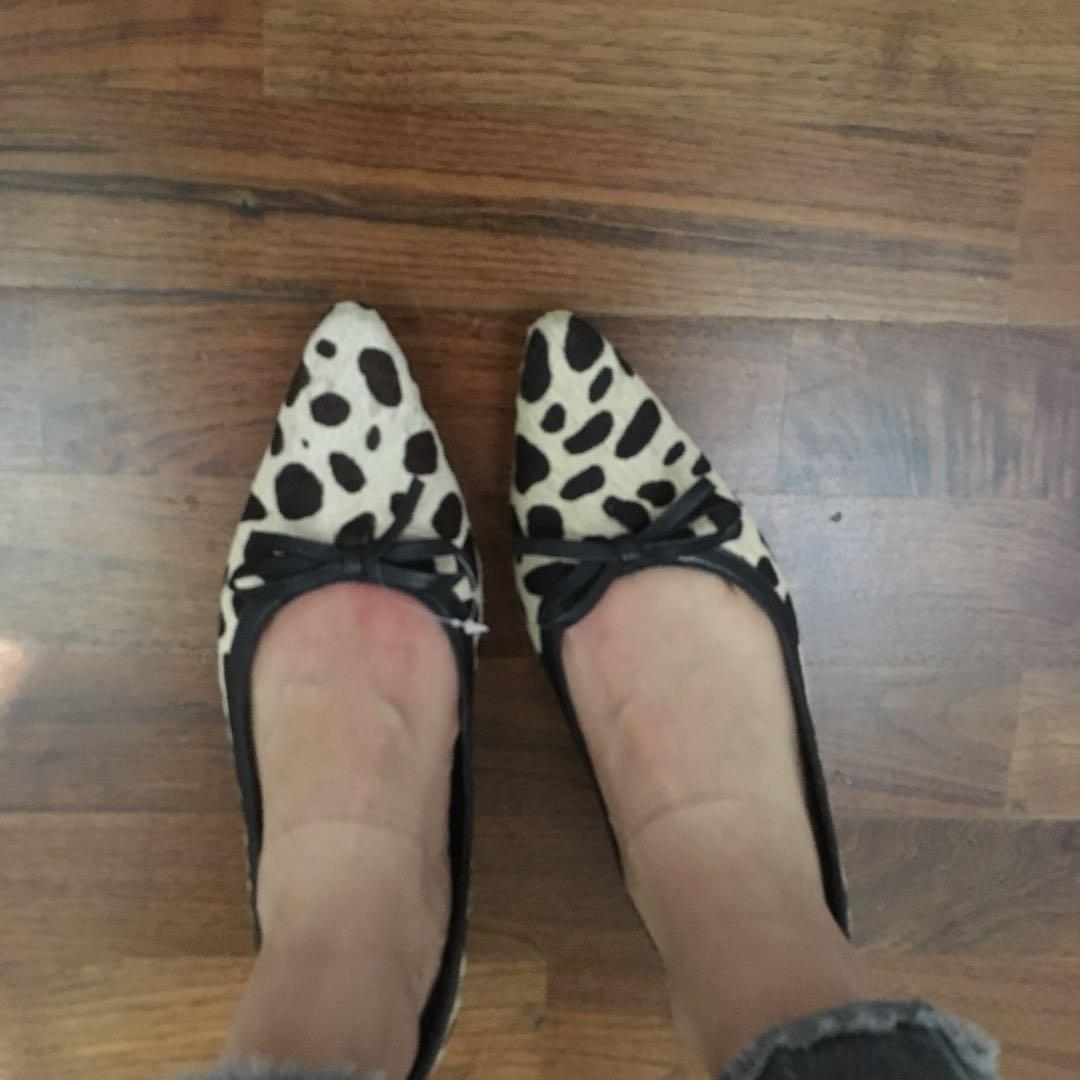 Jane Debster Pointed Toe Flats sz 6.5