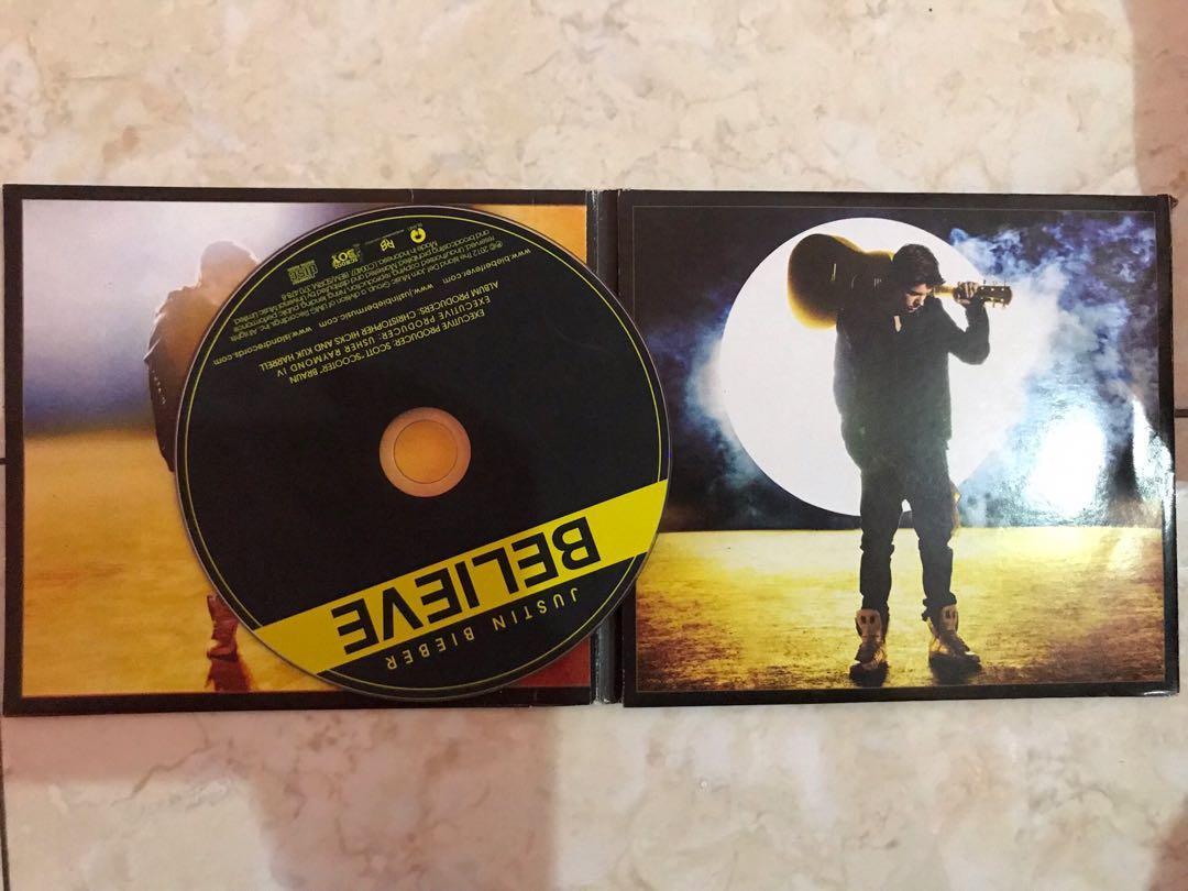 Justin Bieber Album Believe