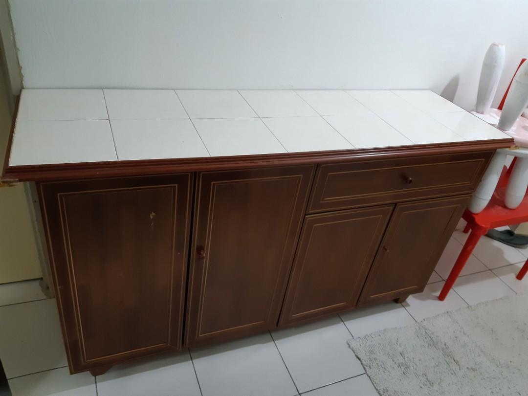 Kabinet Dapur Home Furniture Furniture On Carousell