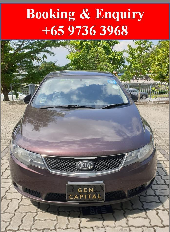 Kia Cerato Forte 1.6A *Lowest rental rates, good condition!