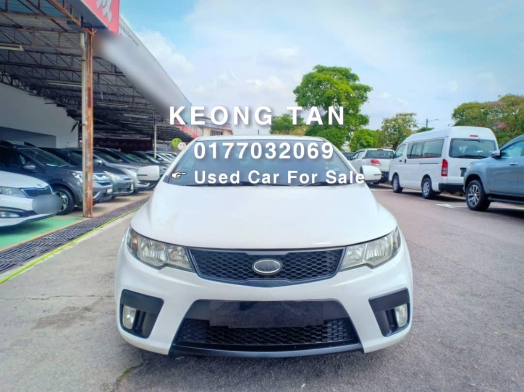 🚘KIA FORTE KOUP 2.0AT SX TWO DOOR Sunroof Sporty Car In Town🚘2012TH Cash💲OfferPrice🎉Rm39,800‼Lowest Price InJB 🎉📲 Keong‼🤗