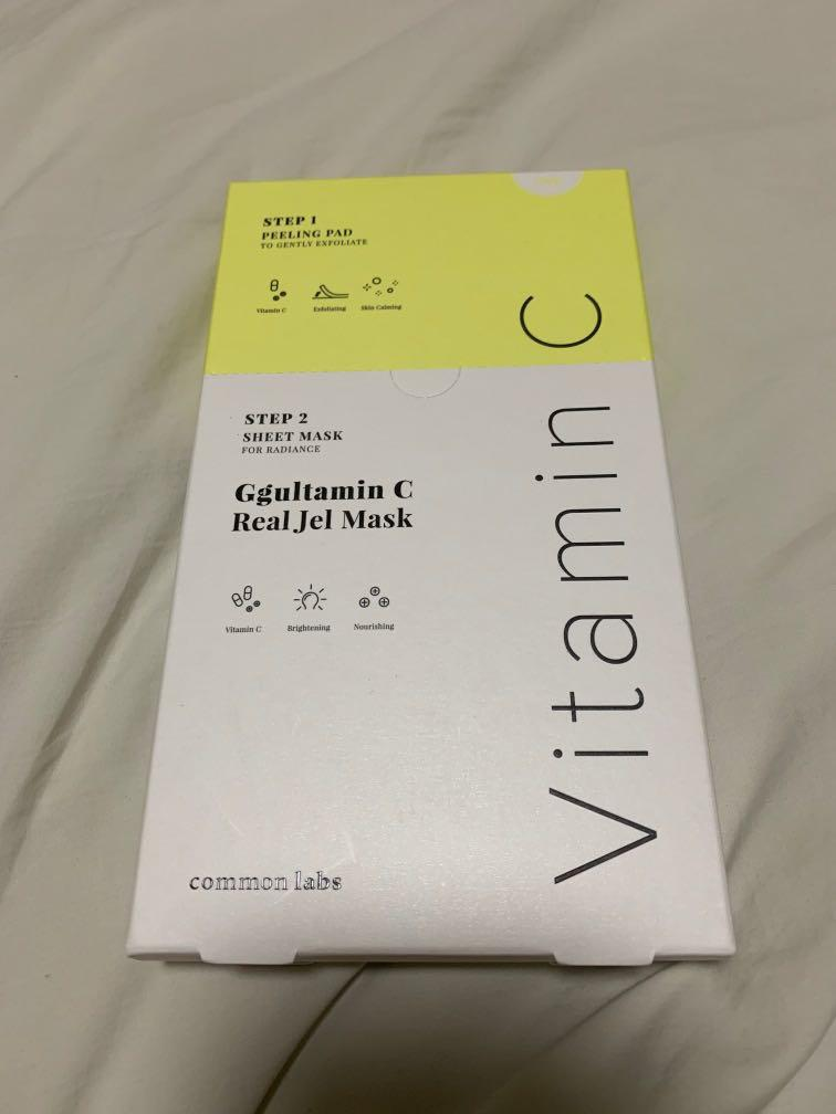 Ksisters Ggultamin Vit C mask, Health & Beauty, Face & Skin