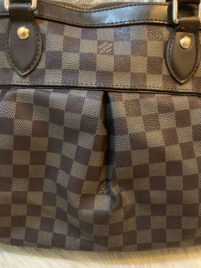 "LV Damier authentic 38 cm with sling strap cantik date code ""AR1077"""