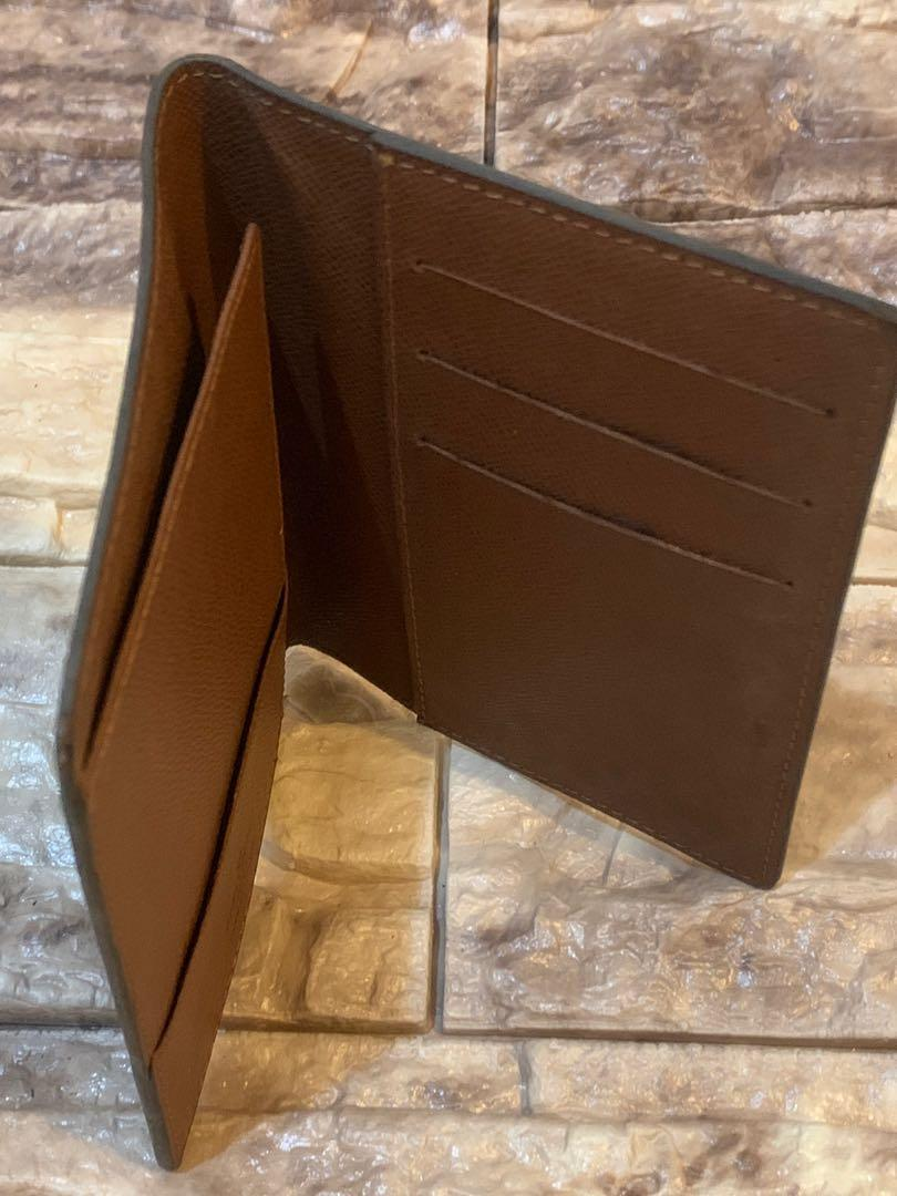LV pasport wallet, mulus full leather