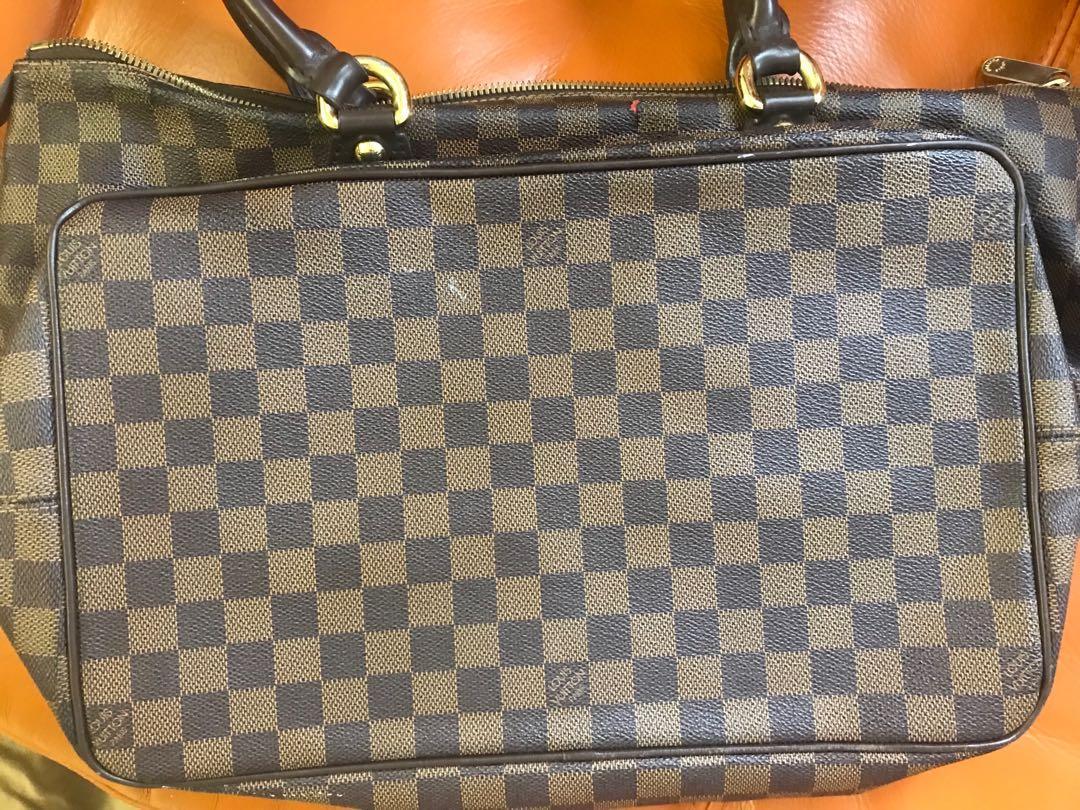 #sellmybags LV啡色格仔大Tote bag$2200