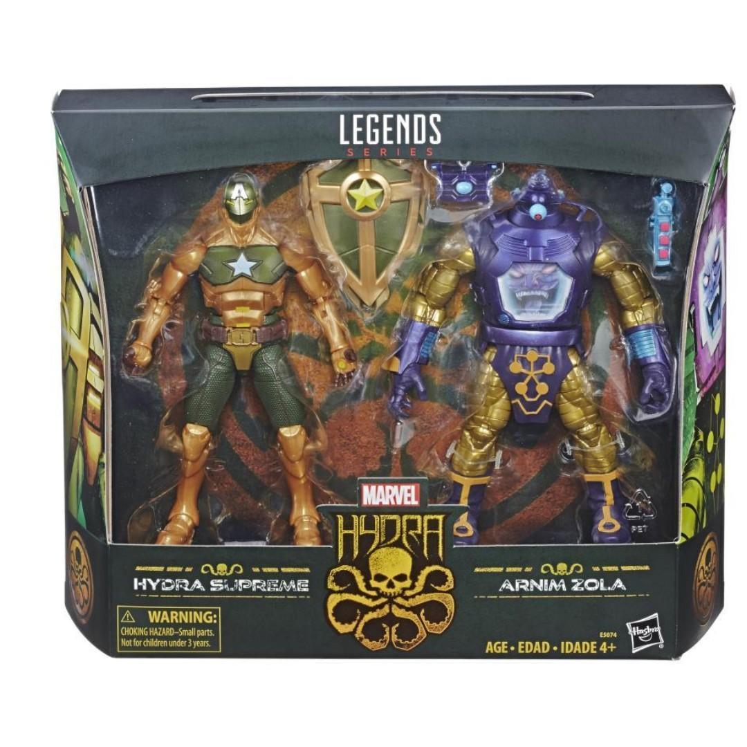 Marvel Legends - Hail Hydra - Hydra Supreme and Arnim Zola Figure
