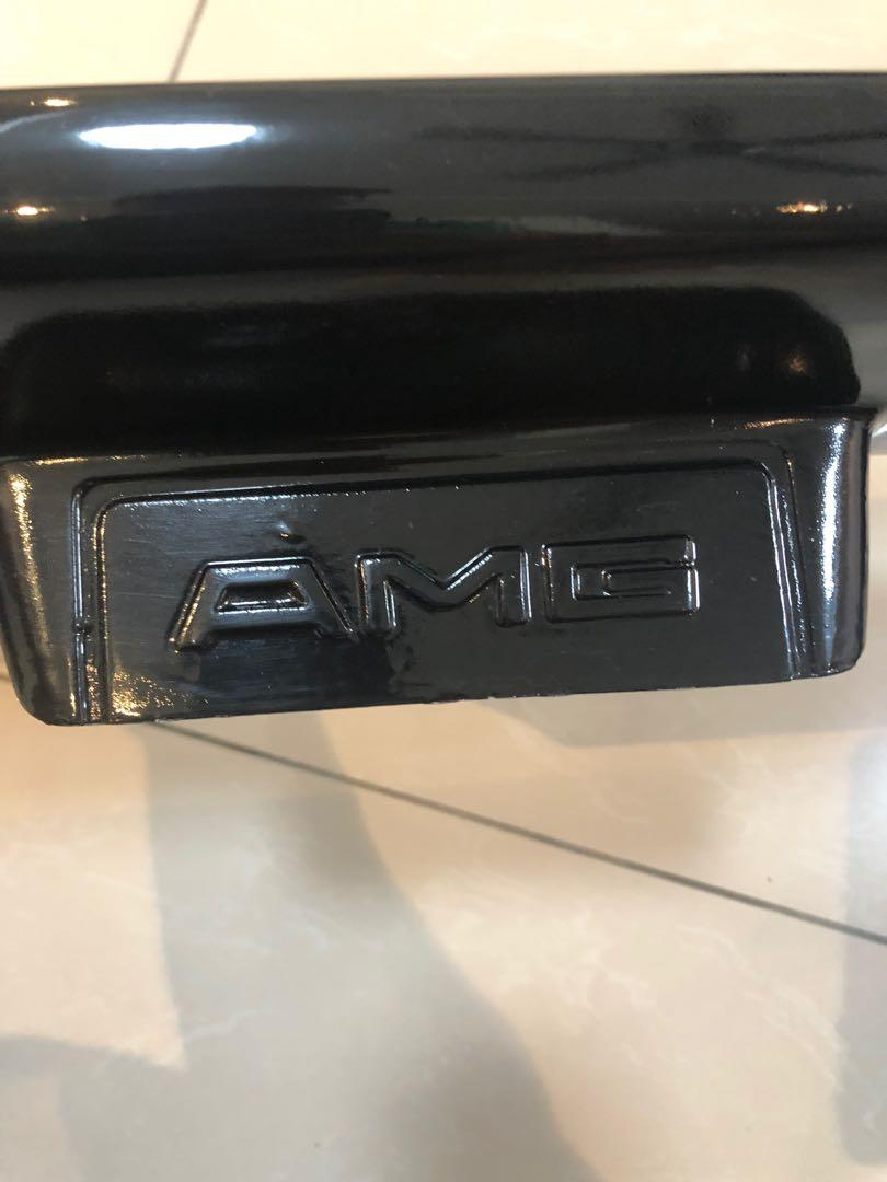 Mercedes W201 190E AMG replica rear bonnet spoiler