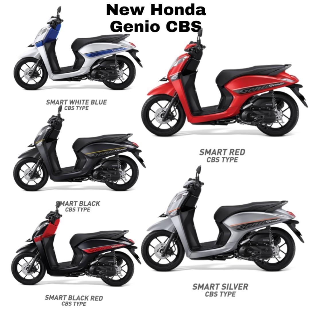 Motor Honda Genio CBS