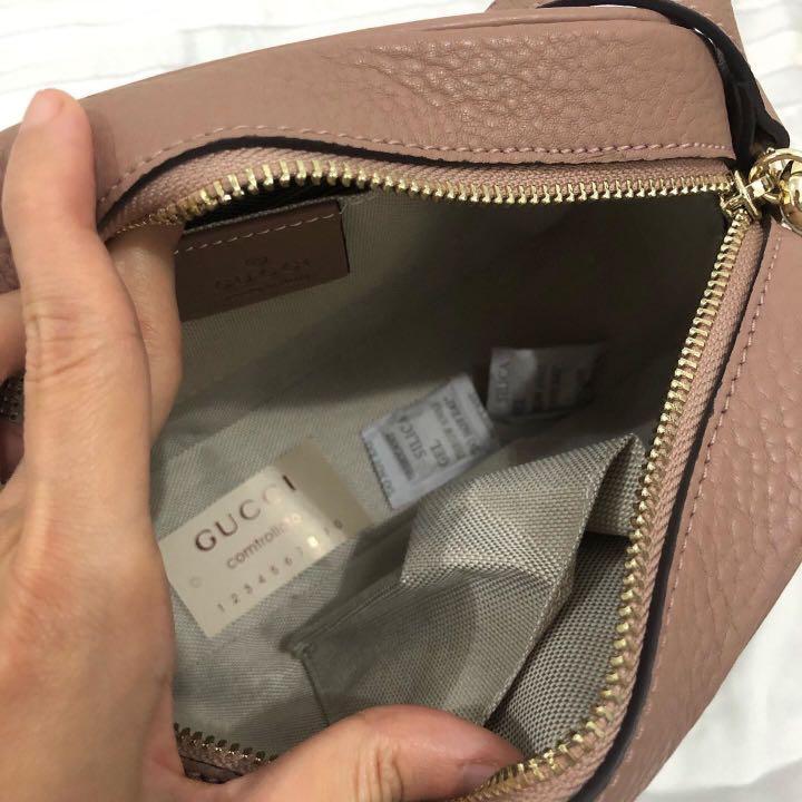 New!✨ Gucci slingbag ori leather with datecode (14x20)cm jual rugi sekali