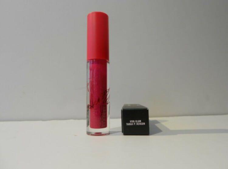 New MAC Viva Glam Taraji P. Henson lipglass *limited edition*