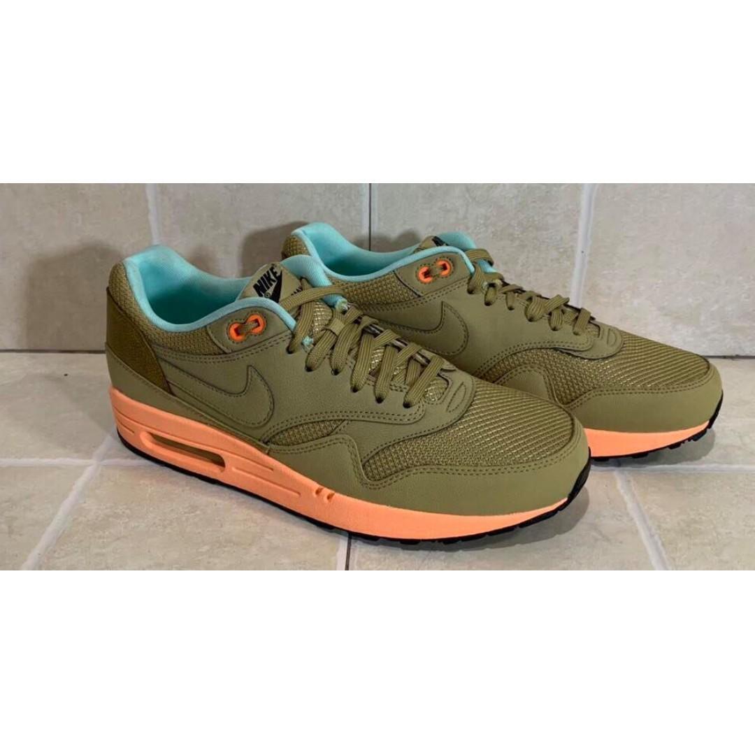 Nike LEGIT Air Max 1 FB Hay Sunset Glow mens shoes sneakers