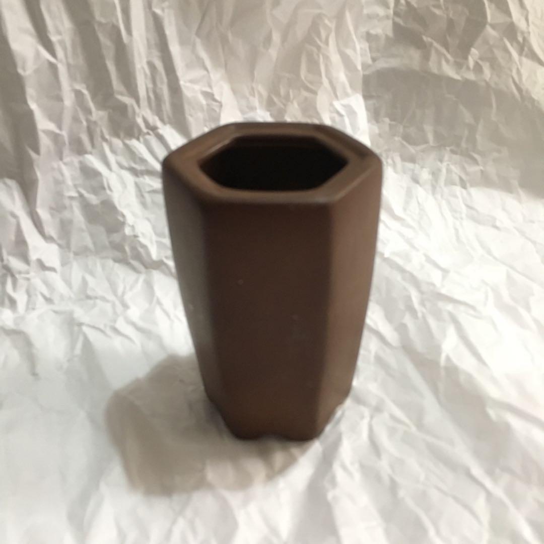 Pot Mini Keramik Cokelat