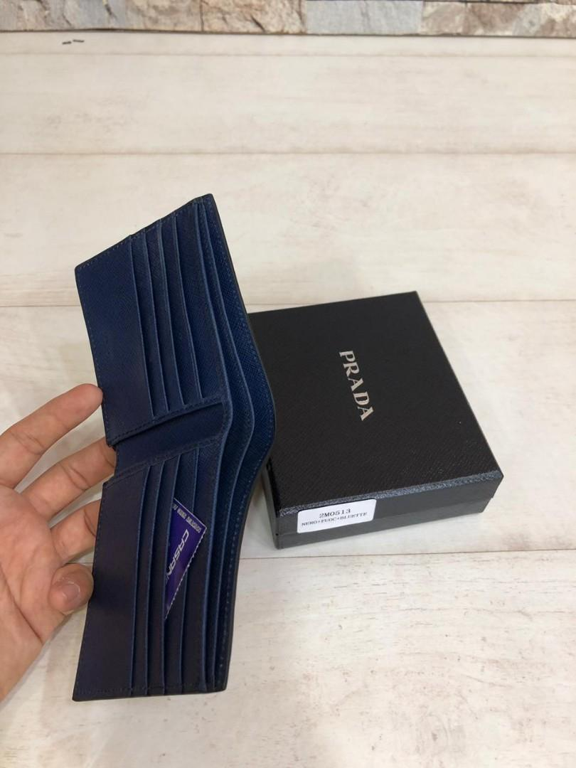 PRADA wallet 2M0513, SUPERMIRROR, w11xh9.5cm,  H  @660rb  (Dijamin Bagus, Mirip Asli)