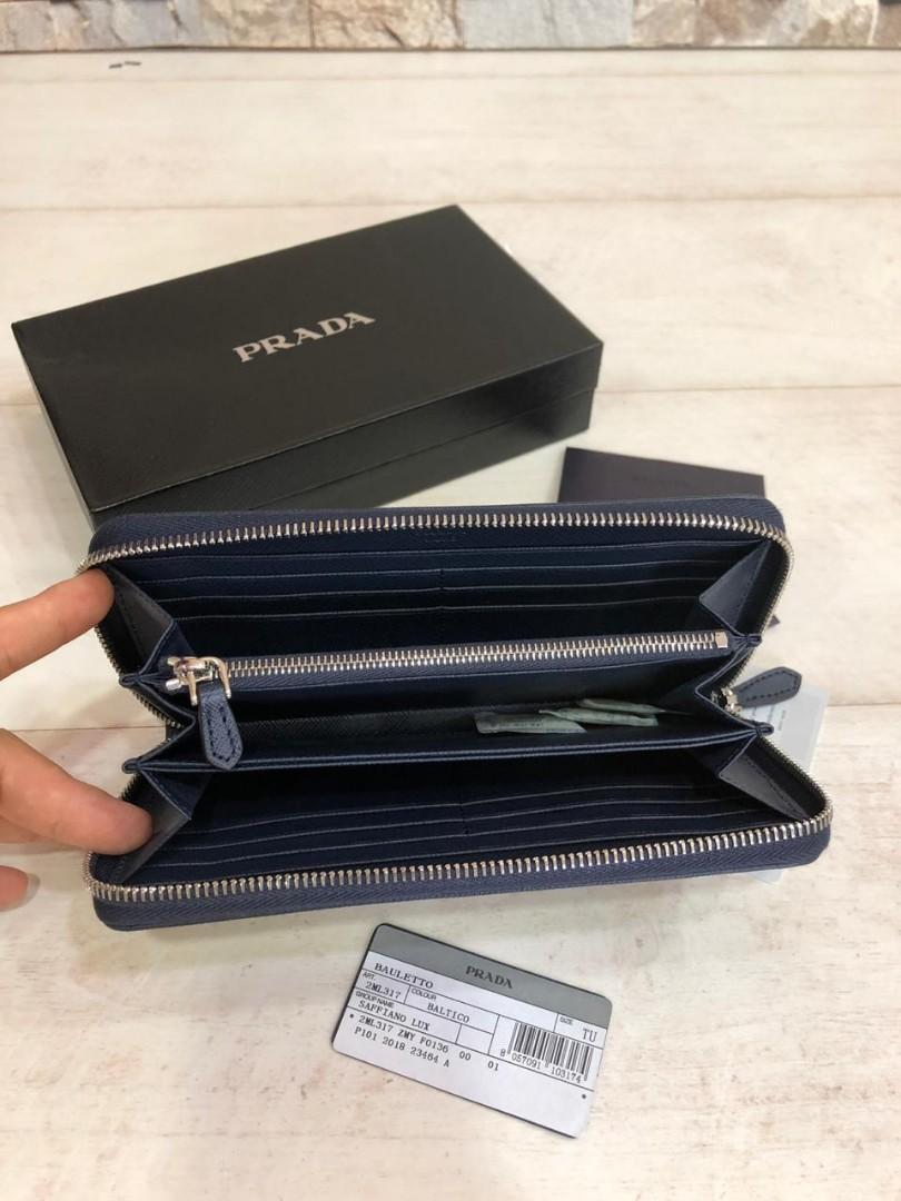 PRADA wallet 2ML317, SUPERMIRROR, w20xh10.5xd2cm, Harga ada Sale dari Supp  H  @700rb  (Dijamin Bagus, Mirip Asli)