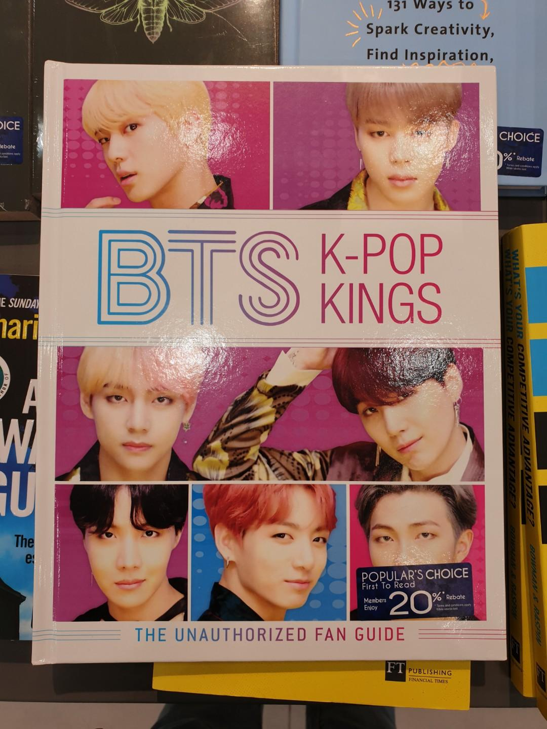 [PREORDER] BTS K-Pop Kings the Unauthorized Fan Guide