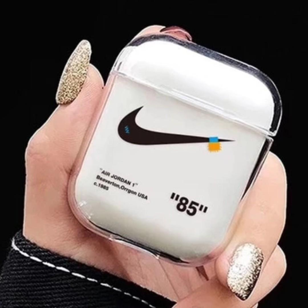 Promo Nike X Off White Airpods Case On Carousell