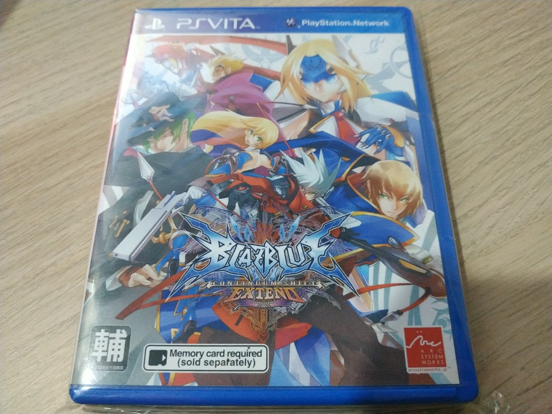 PS Vita - Blazblue: Continuum Shift Extend on Carousell