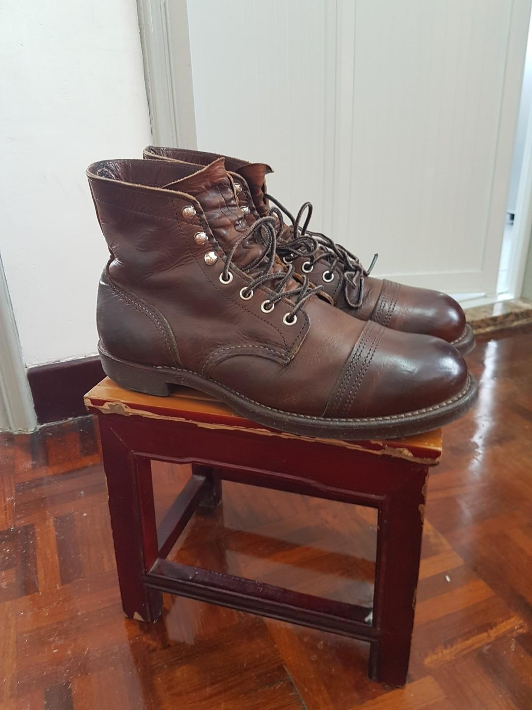 Red Wing 8115 Iron Ranger US 9D