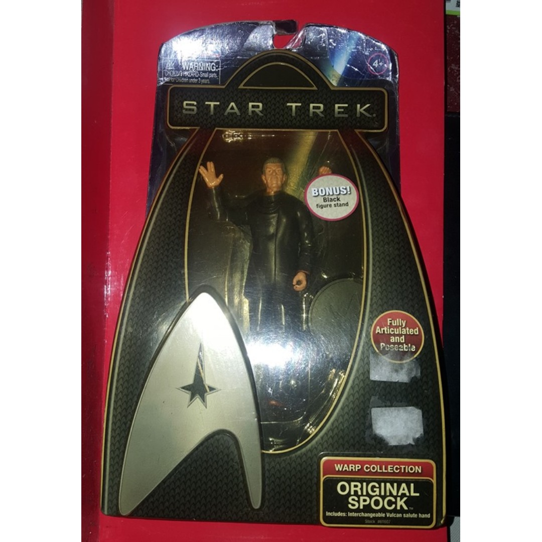 Star Trek Warp Collection CHOOSE CHARACTER Fully Articulated /& Poseable New