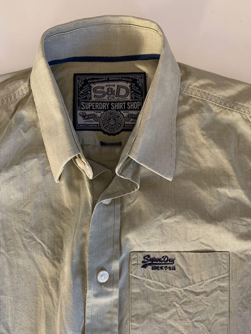 Superdry Men's Dress Shirt Pre Owned but As New Medium