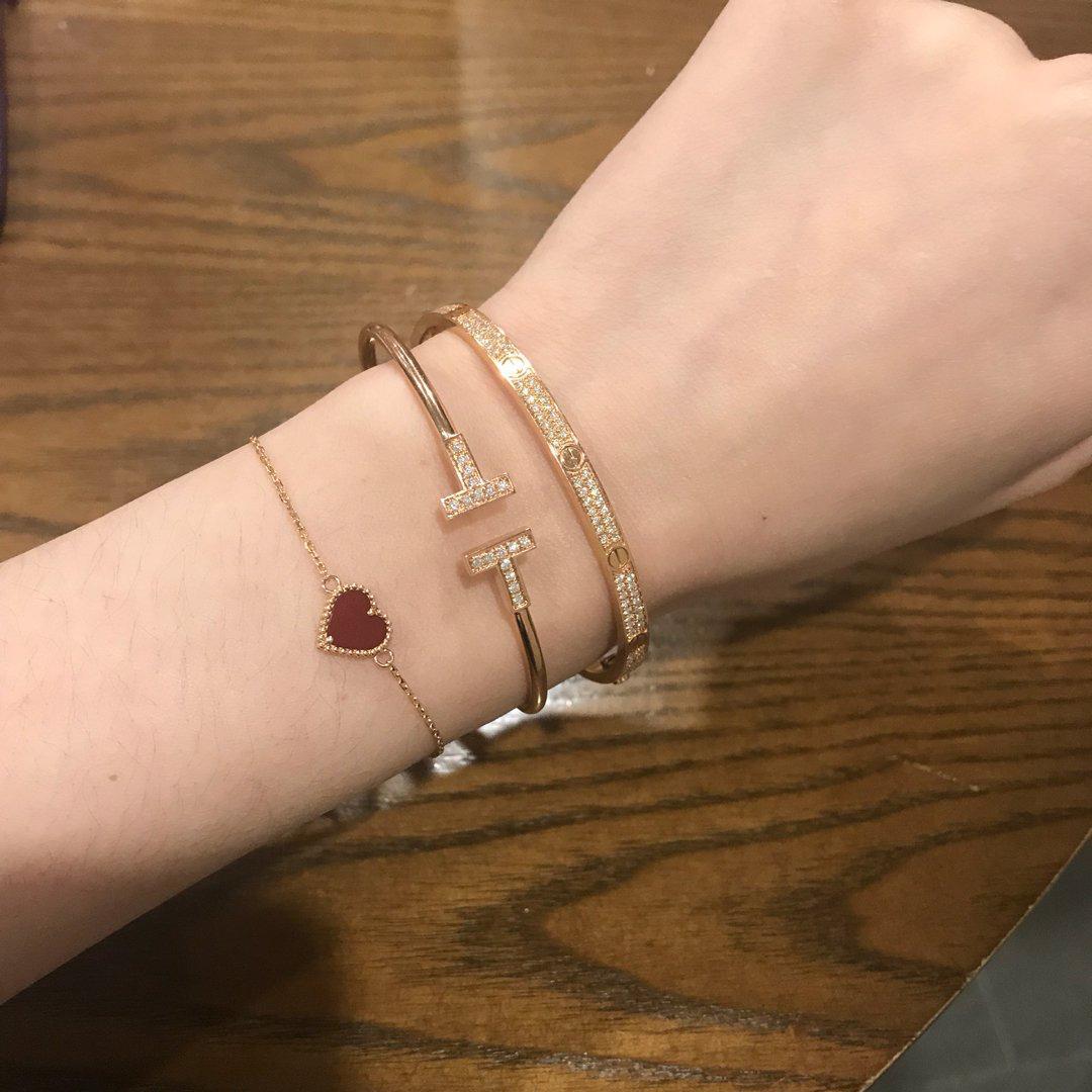 Tiffany T Wire Bracelet Women S Fashion Jewellery Bracelets On Carousell