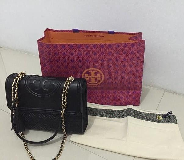 Tory Burch Bag Flemming 27, 2019 (Preloved with VERY GOOD CONDITION)
