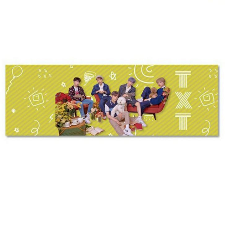 TXT TOMRROW X TOGETHER Fan Support Hand Banner by ohknine