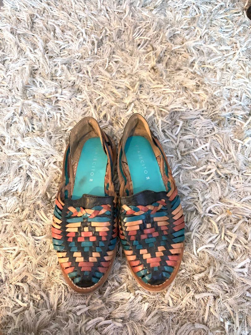 8b7751307eb84 VIAJECITO Mexican Handwoven Huaraches on Carousell