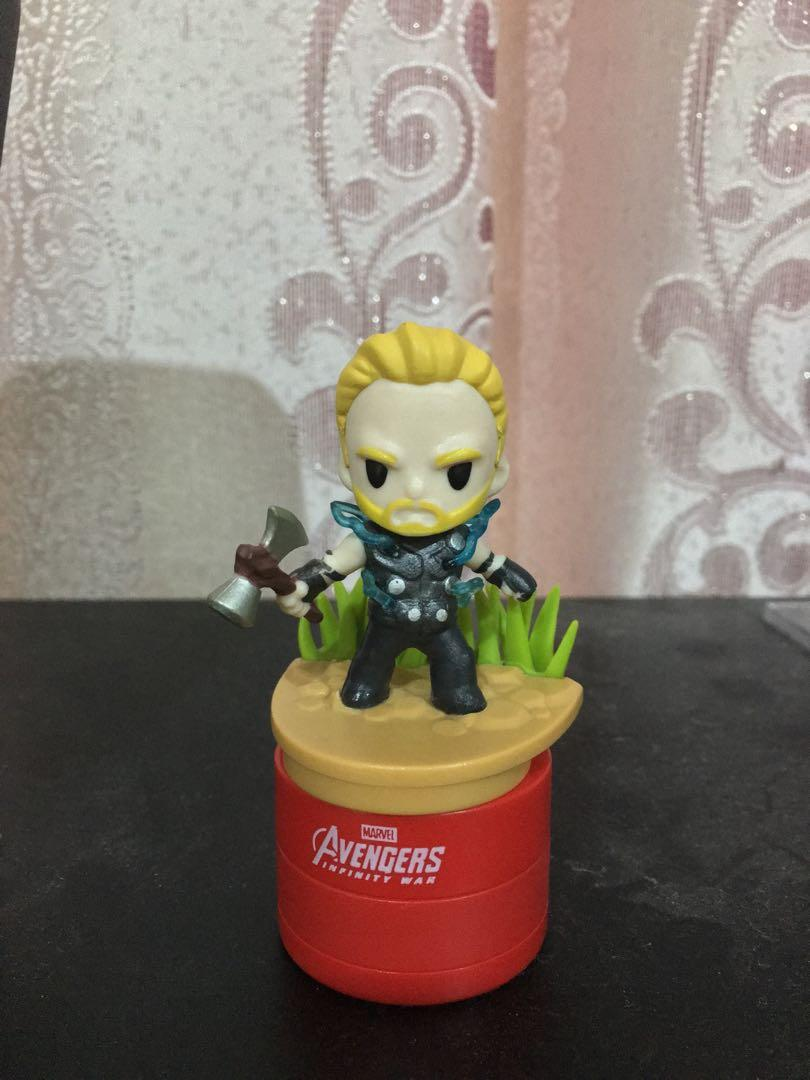 WTS Avengers Infinity War Thor collection stampers from Tesco