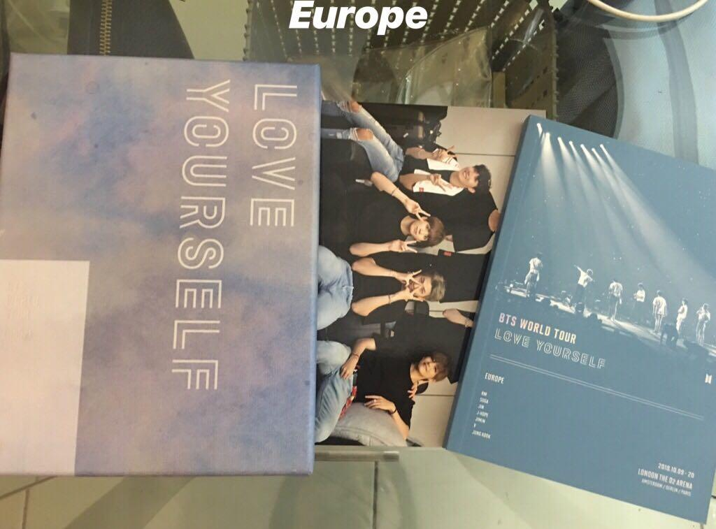 [WTS FAST] BTS CLEARANCE NEW YORK & EUROPE DVD & JHOPE MOTS PC