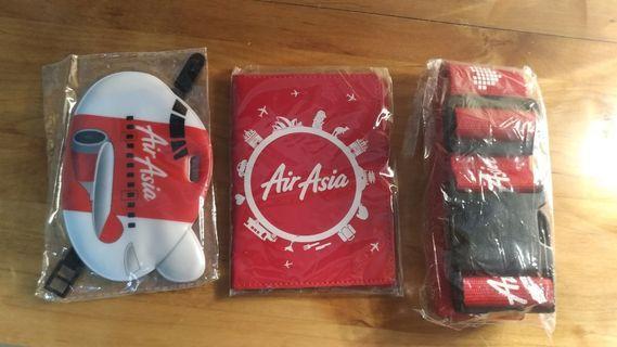 亞洲航空旅行小物