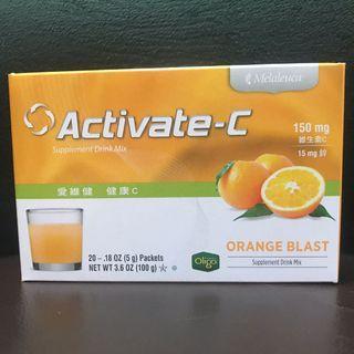 美樂家*愛維健 健康C (柳橙口味)5g x20包 有效期限:2021/05/05