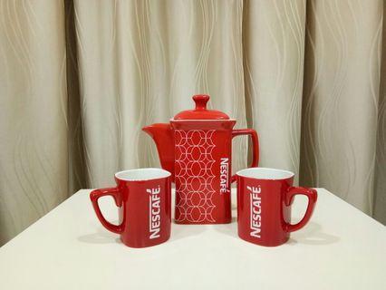 Nescafe Teapot Set