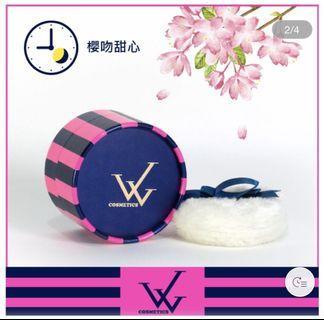 全新*W-COSMETICS  美膚香體粉 櫻吻甜心 有效期限:2022/4/28