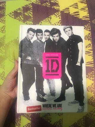 """ONE DIRECTION """" WHERE WE ARE """" BOOK"""
