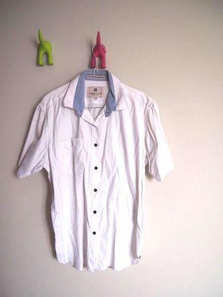 Salt n pepper white shirt