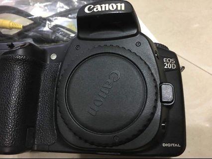 Canon 20d body+canon 38-80mm lens