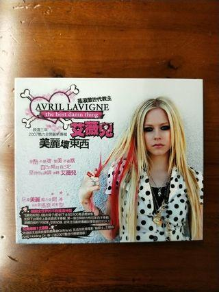艾薇兒Avril Lavigne美麗壞東西The best damn thing專輯