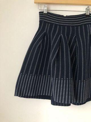 LIKE NEW Maje navy blue skirt